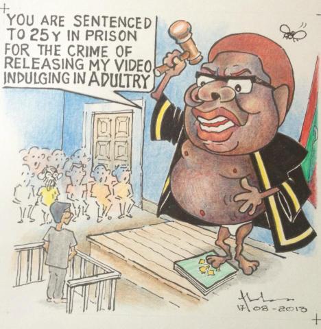 Cartoon by Qaumuge Mehi