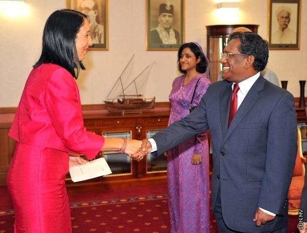 Waheed and Ambassador Sison, Photo: sun.mv