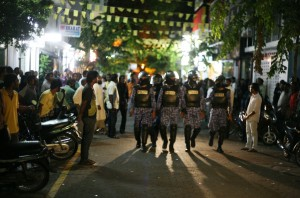 MaldivesPoliceElections2013